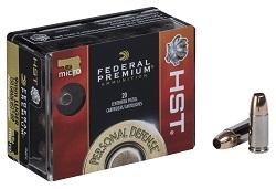 9mm Luger HST