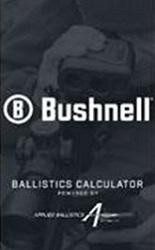 Bushnell Ballistics App