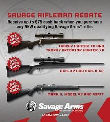 Savage Rifleman Rebate