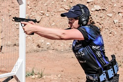 Champion Shooter Julie Golob