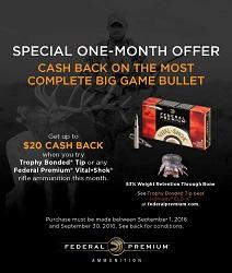 Federal Premium One-Month Cash-Back Rebate